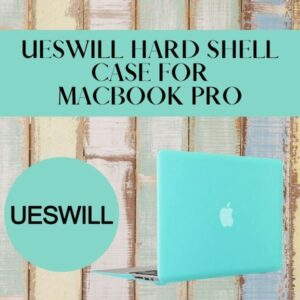 UESWILL Hard Shell Case for MacBook Pro