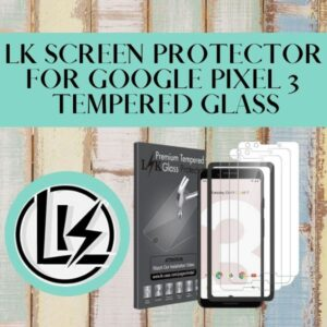 Read more about the article LK Screen Protector for Google Pixel 3 Tempered Glass