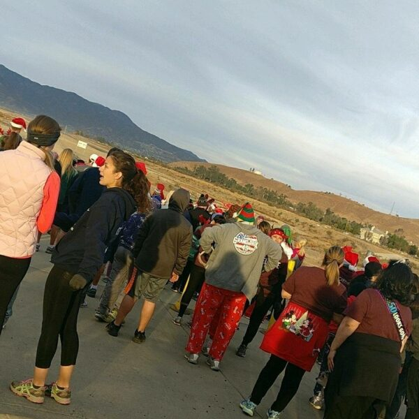 Lake Elsinore Santa Dash