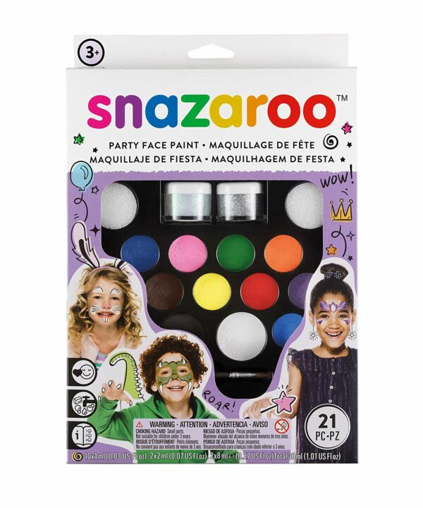 Snazaroo Face Paint Kit Ultimate Party Pack