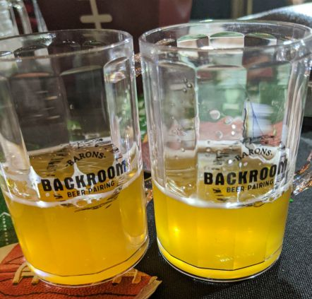 Barons Backroom Beer Pairing