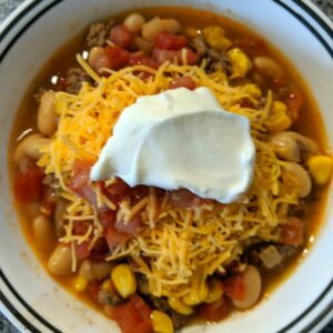 Taco Soup- Slow Cooker Style