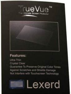 Lexerd – Compatible with Sirius XM Onyx TrueVue Anti-Glare MP3 Screen Protector