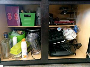 Pantry and Cabinet Organization