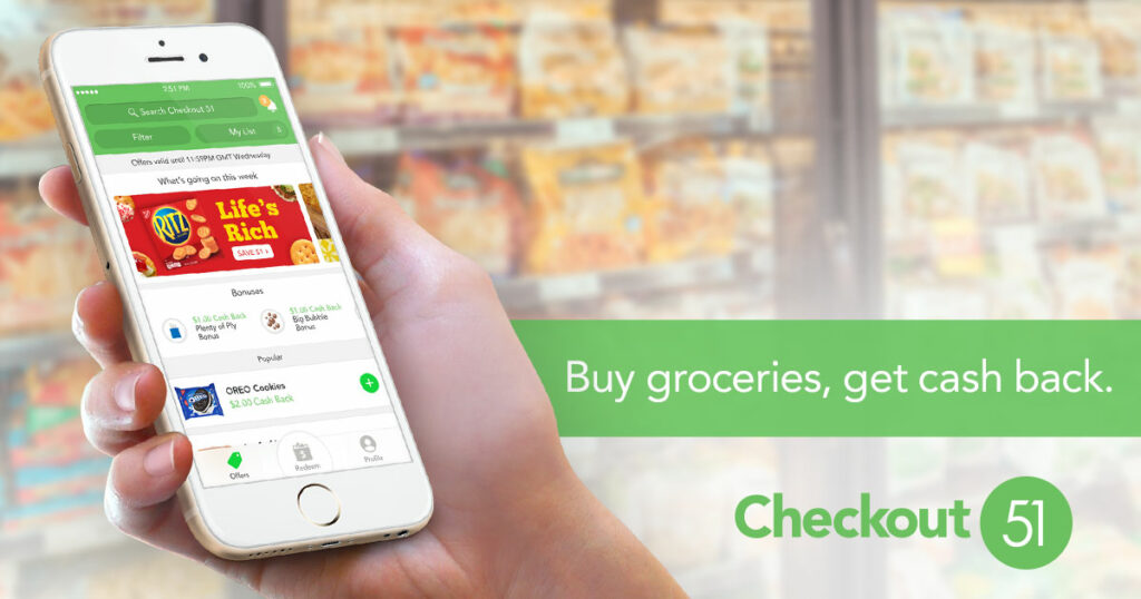 Six Months of Cash Back Apps:  Imagine from Checkout 51