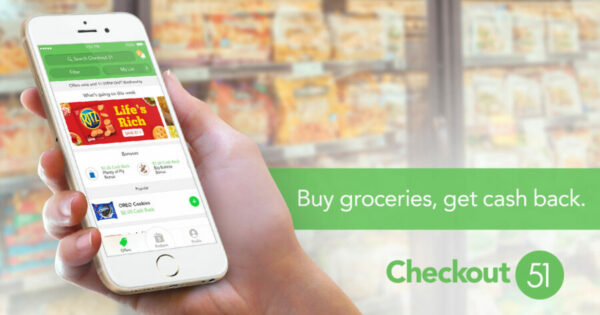 Get Money Back Shopping with Checkout 51