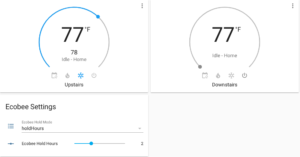 Ecobee: Customizing Hold Modes in Home Assistant