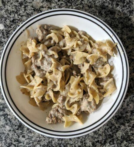Reggano Cheesy Skillets Dinner Kits Creamy Beef Stroganoff