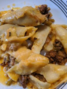 Cheesesteak Stuffed Shells