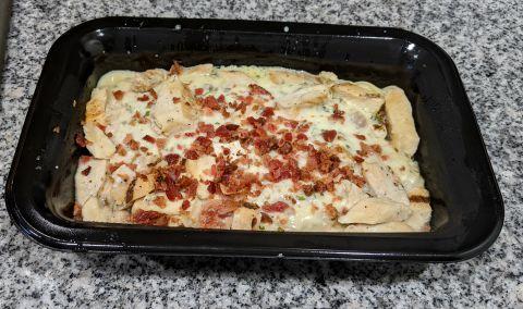 Chicken Carbonara with Spaghetti