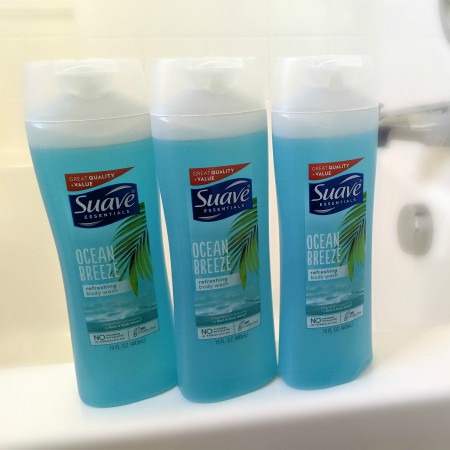 Suave Body Wash – Three for $2.19
