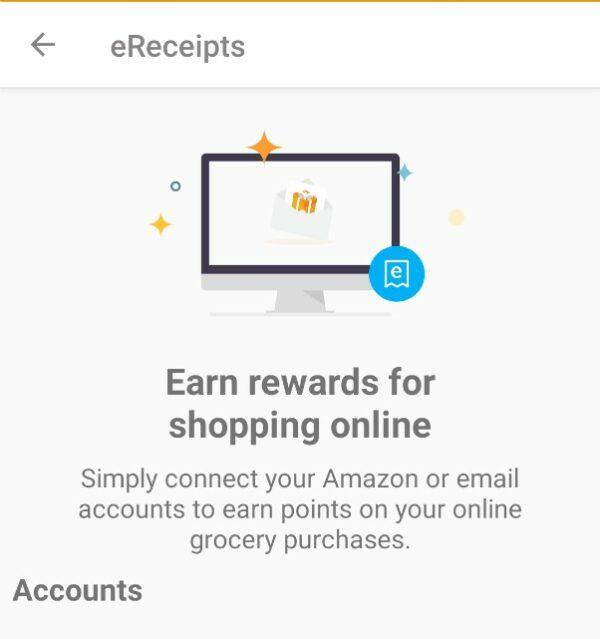 Fetch Rewards - Earn with ereceipts