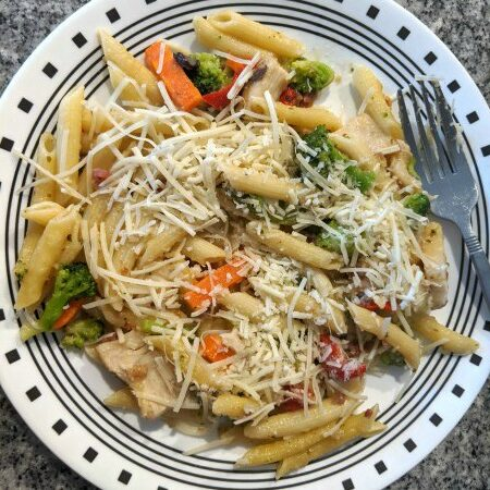Chicken Penne Primavera from Aldi