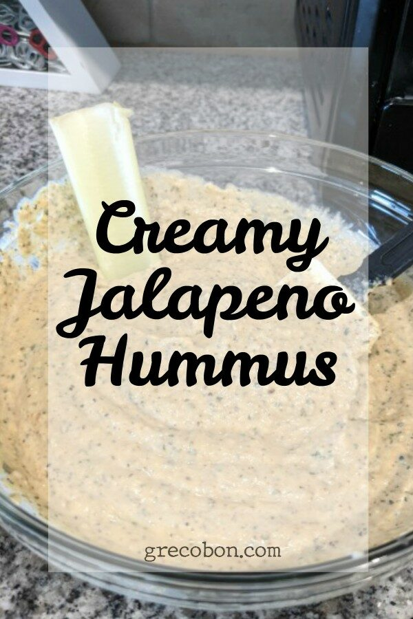 Jalapeno Hummus Pinterest Picture