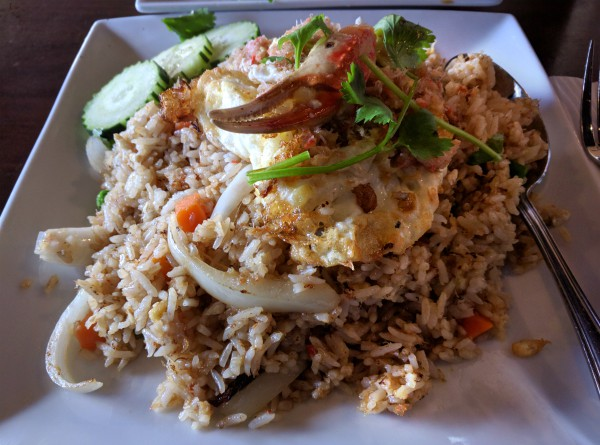 Crab Meat Fried Rice from Palm Thai, Lake Elsinore