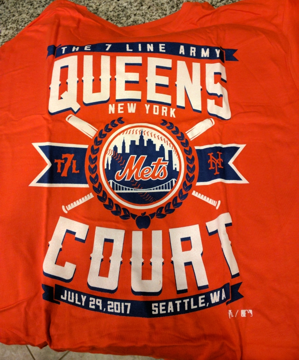 The 7 Line Army Mets at Mariners 2017