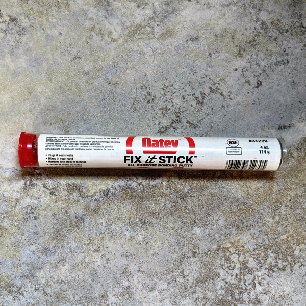 Oatey Fix It Stick for Cracked Tile
