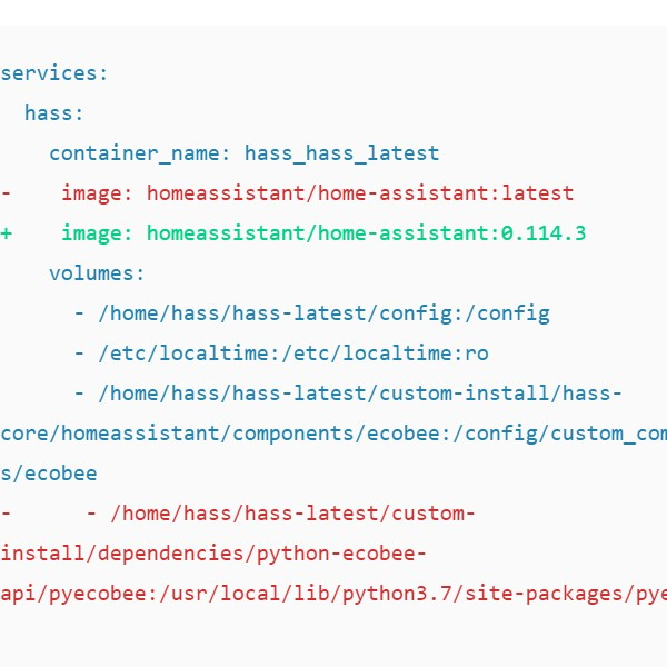 Home Assistant: Updating w/ Custom Components