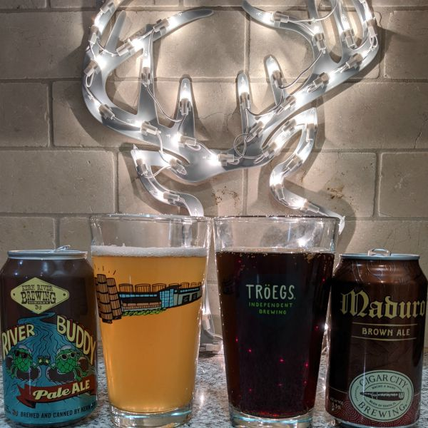 Beer Advent Calendar Keen River Brewing Co River Buddy and Cigar City Brewing Maduro Brown Ale
