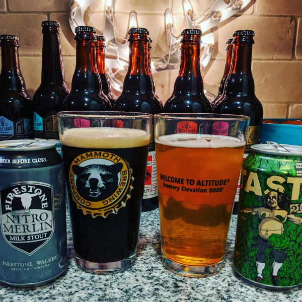 Beer Advent Calendar Firestone Nitro Merlin and 21st Amendment Brewery Tasty IPA