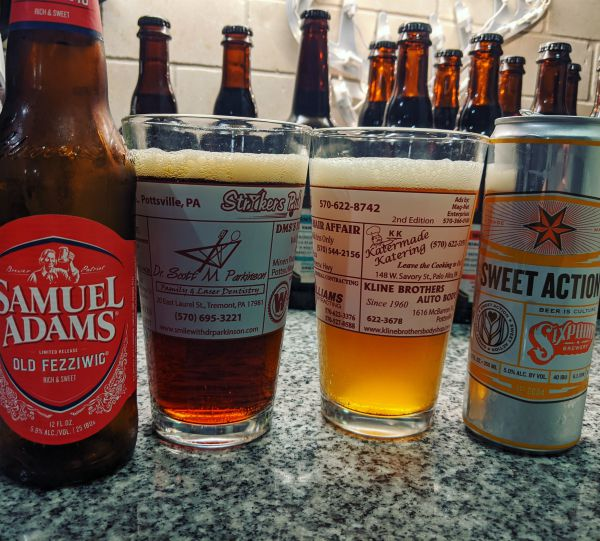 Beer Advent Calendar Samuel Adams Old Fezziwig and Sixpoint Brewery Sweet Action