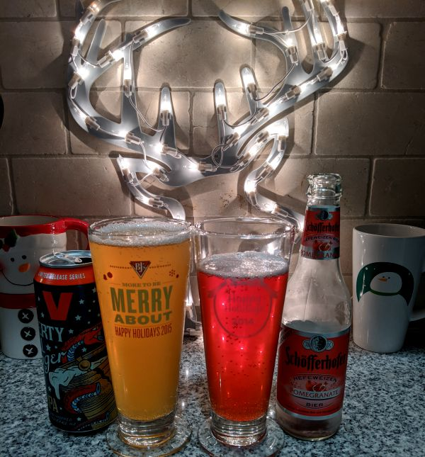 Beer Advent Calendar Victory Brewing Company and Schofferhoffer Grapefruit Shandy