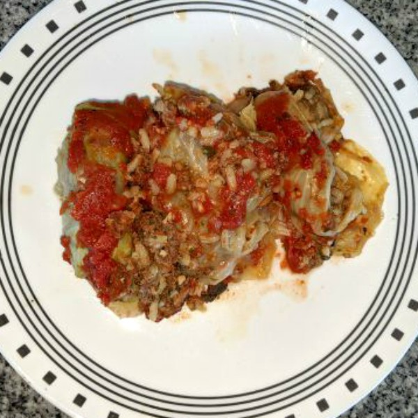 Halupki – Stuffed Cabbage Rolls