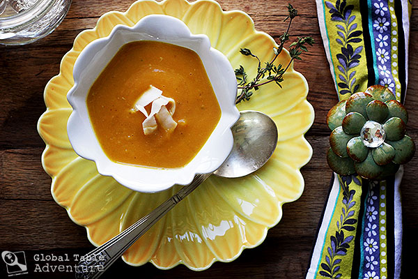 Caribbean Pumpkin & Coconut Cream Bisque - Saint Vincent and the Grenadines