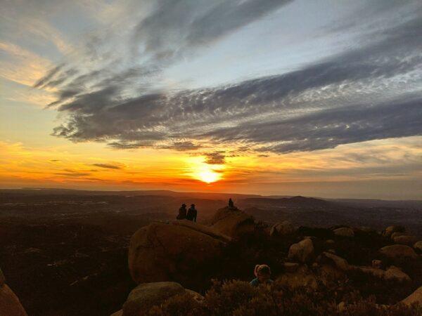 Sunset at Potato Chip Rock