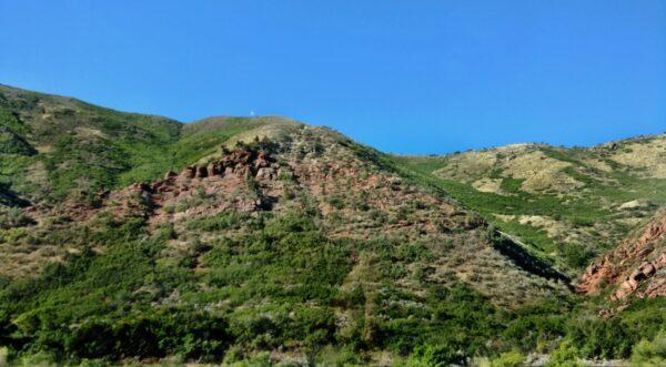 Scenery West of Glenwood Springs, Colorado on I-70