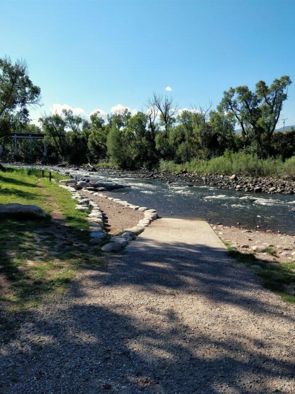 Stream near Eagle Tourist Information Center, Colorado