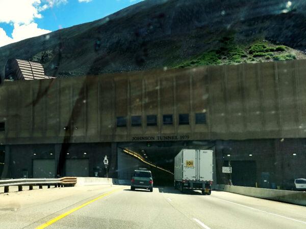 Johnson Tunnel I-70 west of Loveland Ski Area
