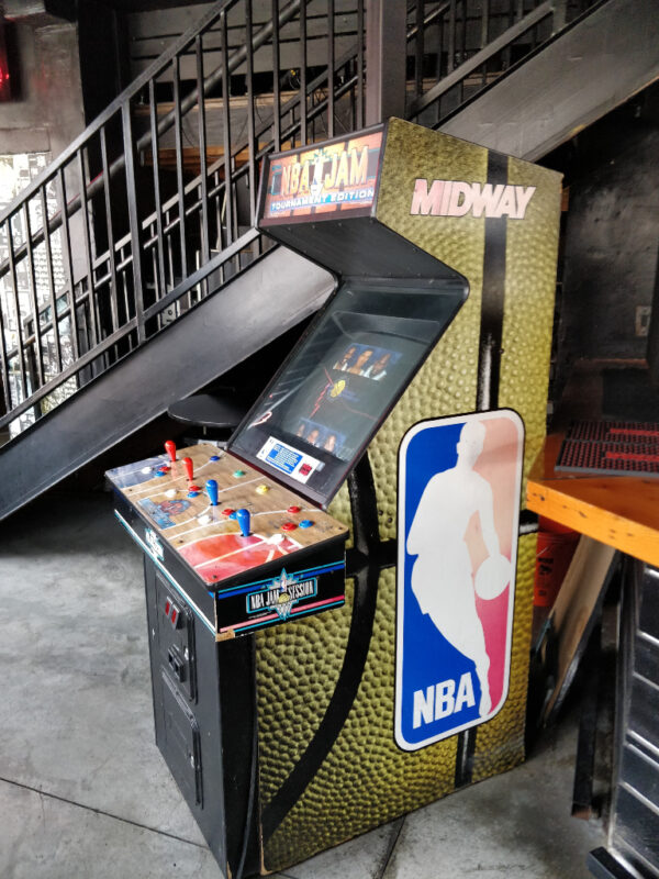 NBA Jam at Up Down Kansas City