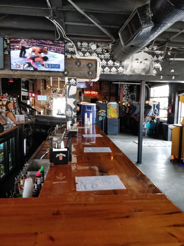 Bar area at Up Down Kansas City