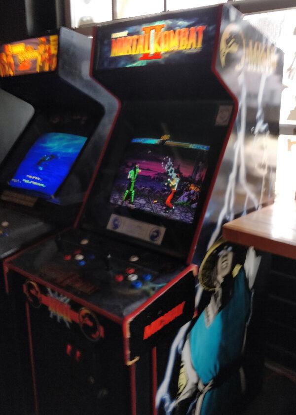 Mortal Kombat II Arcade Game at Up Down Kansas City