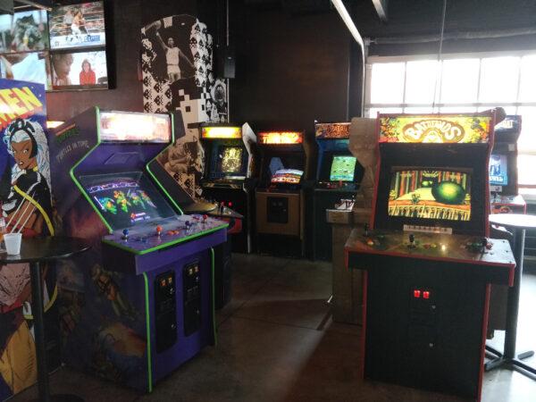 Arcade Games at Up Down Kansas City