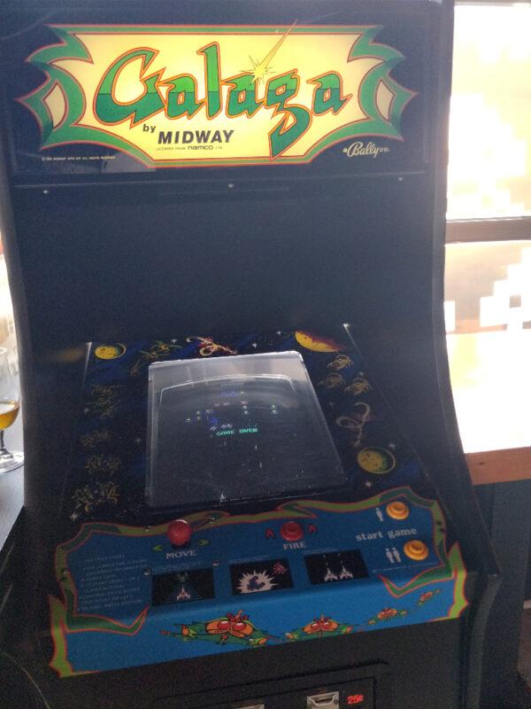 Galaga Arcade Game at Up Down Kansas City