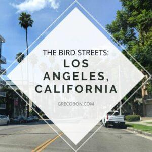 Bird Streets of Los Angeles