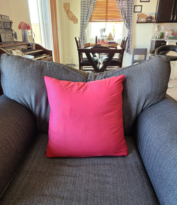 THrow Pillow Cases in Light Red