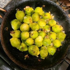 Flemish Brussels Sprouts