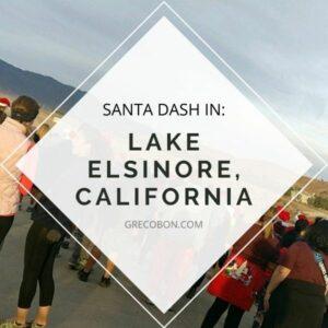 Lake Elsinore Santa Dash