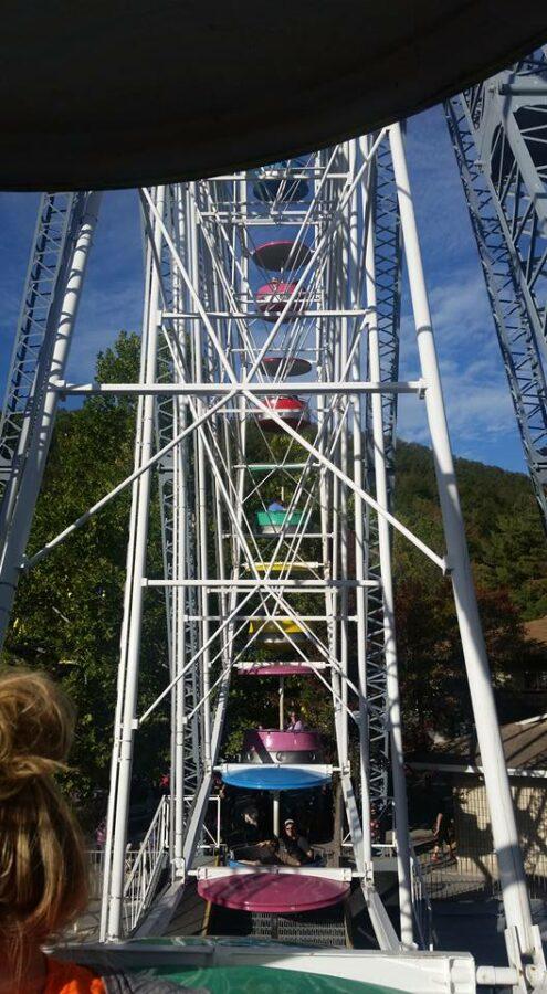 Knoebels Grove View from Ferris Wheel