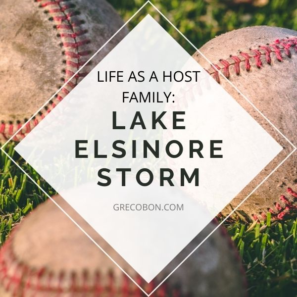 Lake Elsinore Storm Host Family- Year 2
