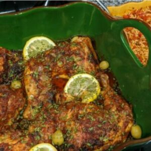 Moroccan Inspired Chicken
