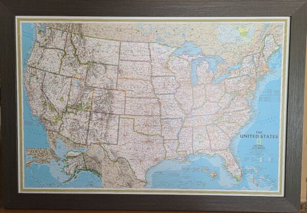 Push Pin Travel Map