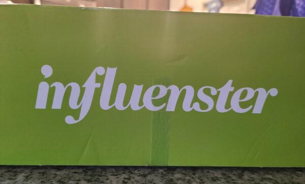 influenster label on box