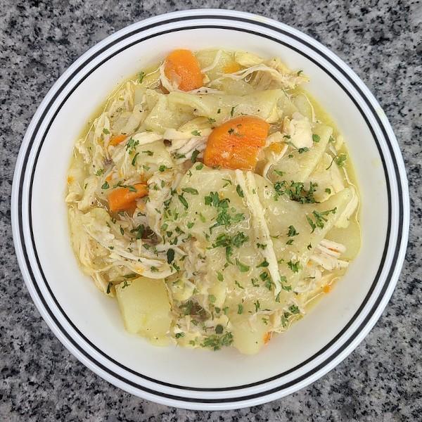 Chicken Pot Pie – Pennsylvania Dutch Style