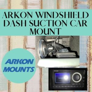 ARKON Windshield Dash Suction Car Mount