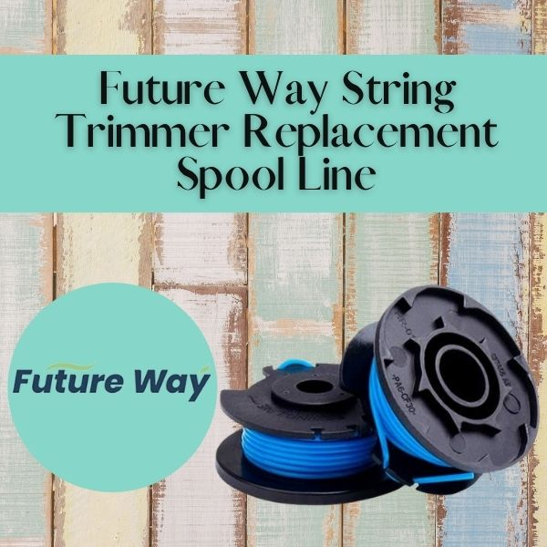 Future Way String Trimmer Replacement Spool Line