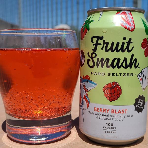 Fruit Smash Hard Seltzer Berry Blast Flavor